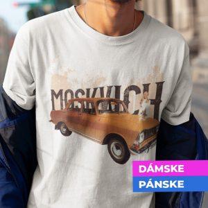 Tričko s potlačou MOSKVICH