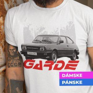 Tričko s potlačou ŠKODA Garde