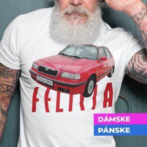 Tričko s potlačou ŠKODA Felícia