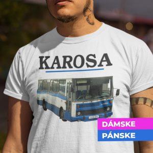 Tričko s potlačou KAROSA Autobus