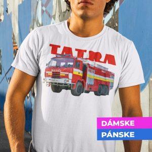 Tričko s potlačou TATRA 815 Hasiči