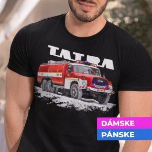 Tričko s potlačou TATRA 148 Hasiči