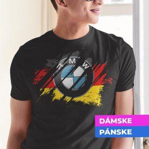 Tričko s potlačou BMW