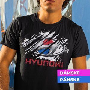 Tričko s potlačou HYUNDAI
