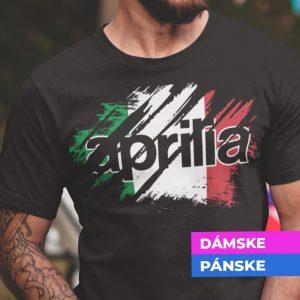 Tričko s potlačou APRILIA