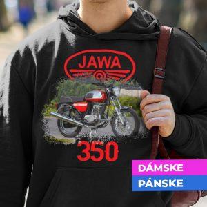 Mikina s potlačou JAWA 350