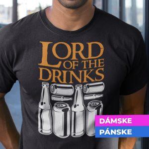 Tričko s potlačou LORD