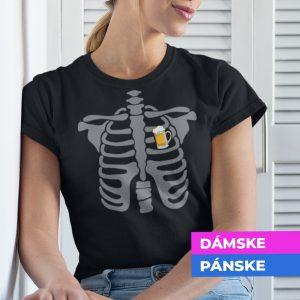 Tričko s potlačou PIVO V SRDCI