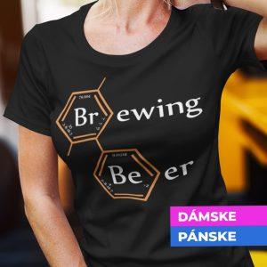 Tričko s potlačou BREWING BEER