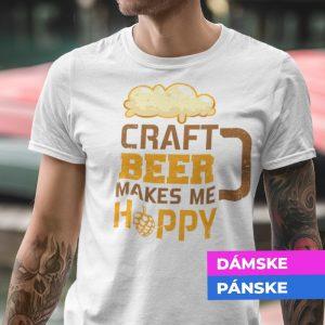 Tričko s potlačou CRAFT BEER