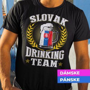 Tričko s potlačou SLOVAK DRINKING TEAM