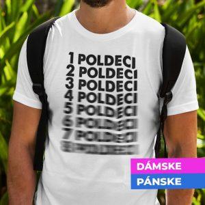 Tričko s potlačou POLDECI