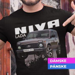Tričko s potlačou LADA NIVA
