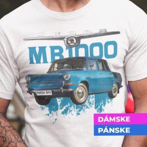 Tričko s potlačou ŠKODA MB1000
