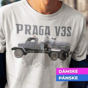 Tričko s potlačou PRAGA V3S FEKAL