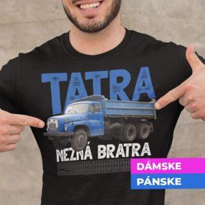 Tričko s potlačou TATRA 148