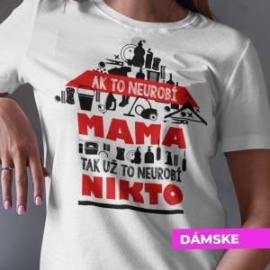 Tričko s potlačou SUPER MAMA