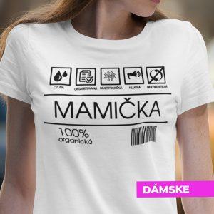 Tričko s potlačou MAMIČKA