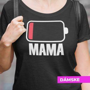 Tričko s potlačou MAMA