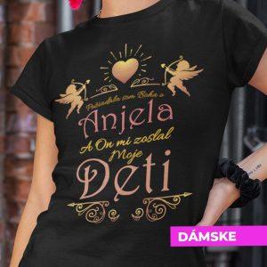 Tričko s potlačou ANJEL