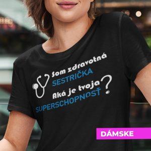 Tričko s potlačou ORIGINÁLNA SESTRIČKA