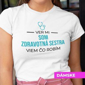 Tričko s potlačou VER MI