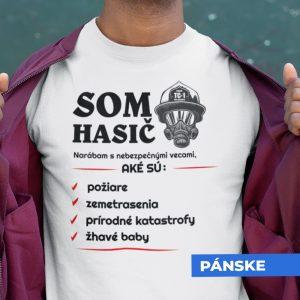 Tričko s potlačou SOM HASIČ