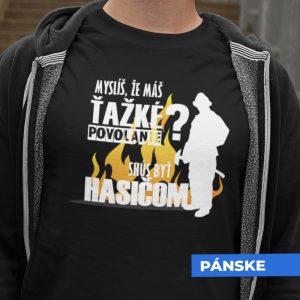 Tričko s potlačou HASIČ