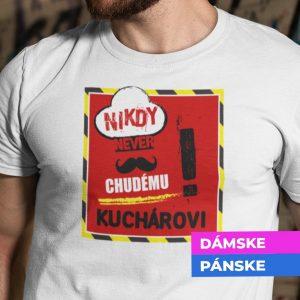 Tričko s potlačou KUCHÁR