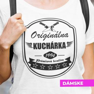 Tričko s potlačou ORIGINÁLNA KUCHÁRKA