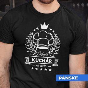 Tričko s potlačou NAJLEPŠÍ KUCHÁR