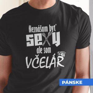 Tričko s potlačou SEXY VČELÁR