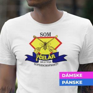 Tričko s potlačou SOM VČELÁR