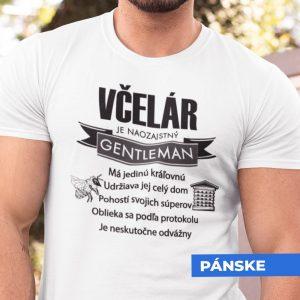 Tričko s potlačou VČELÁR GENTLEMAN