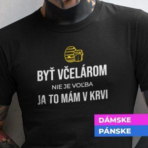 Tričko s potlačou VČELÁR