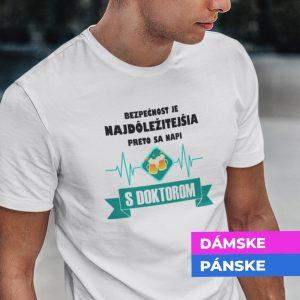 Tričko s potlačou NAPI SA S DOKTOROM