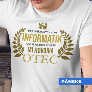 Tričko s potlačou OTEC INFORMATIK