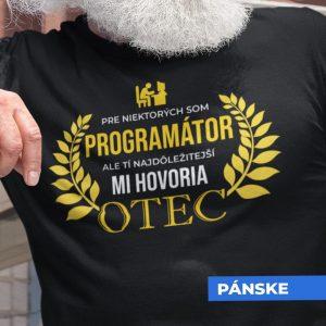 Tričko s potlačou OTEC PROGRAMÁTOR