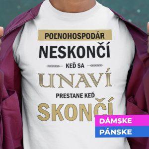 Tričko s potlačou POĽNOHOSPODÁR