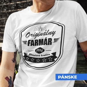 Tričko s potlačou ORIGINÁLNY FARMÁR