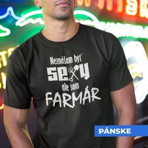 Tričko s potlačou SEXY FARMÁR