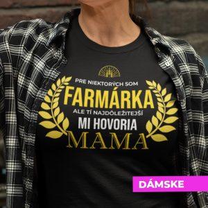Tričko s potlačou MAMA FARMÁRKA