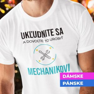 Tričko s potlačou MECHANIK