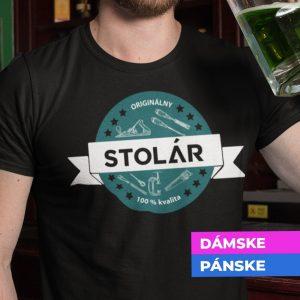 Tričko s potlačou ORIGINÁLNY STOLÁR