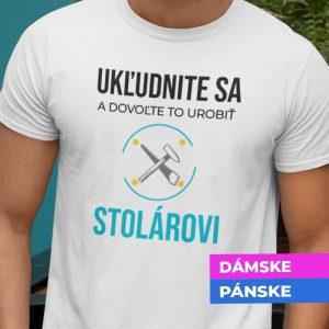 Tričko s potlačou STOLÁR