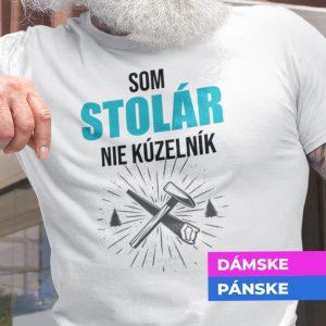 Tričko s potlačou SOM STOLÁR