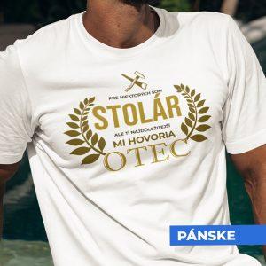 Tričko s potlačou OTEC STOLÁR