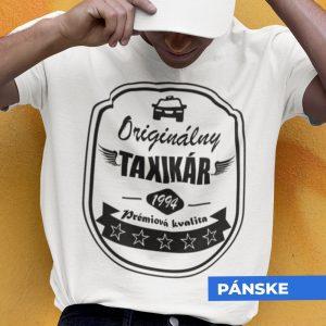 Tričko s potlačou ORIGINÁLNY TAXIKÁR