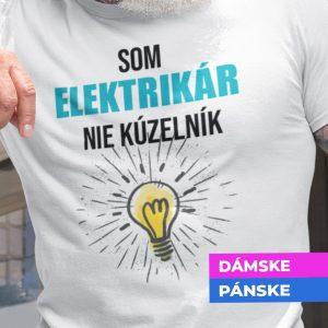 Tričko s potlačou SOM ELEKTRIKÁR