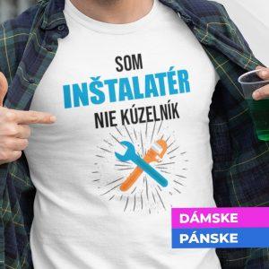 Tričko s potlačou SOM INŠTALATÉR